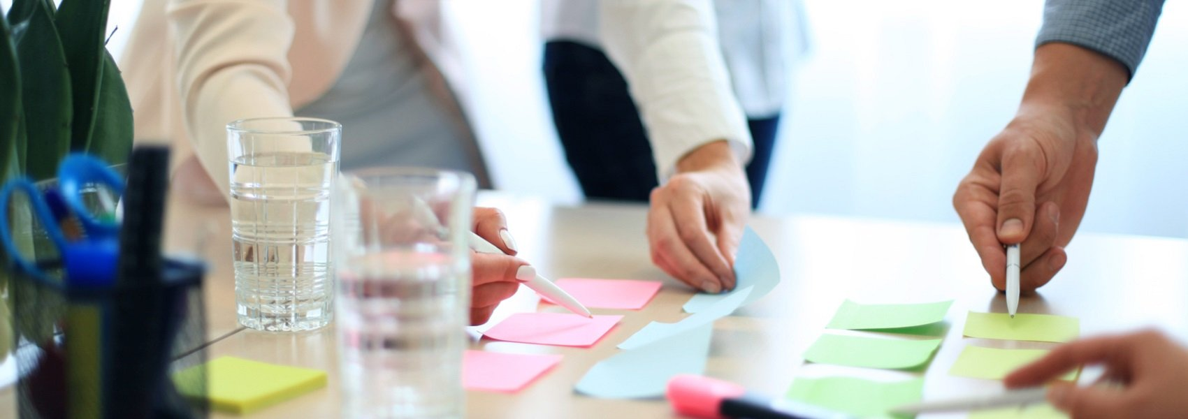 Teamworkshops und Trainings